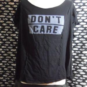 Torrid Don't Care T-Shirt